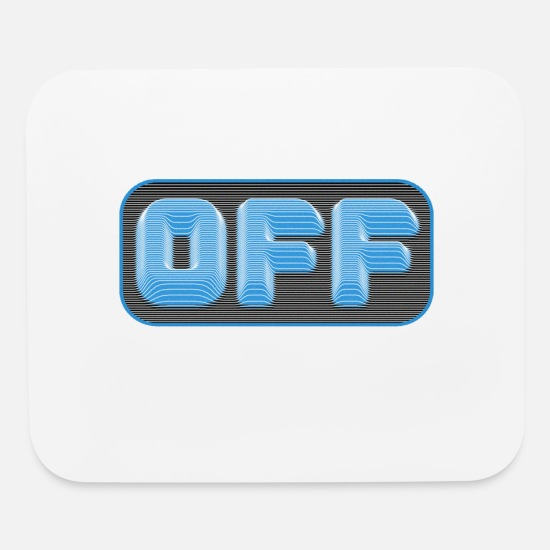 Offensive Mouse Pads - Off Pull Effect - Mouse Pad white