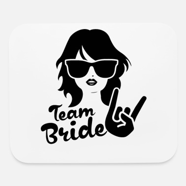 Bride Team Bride Bachelorette Party - Mouse Pad