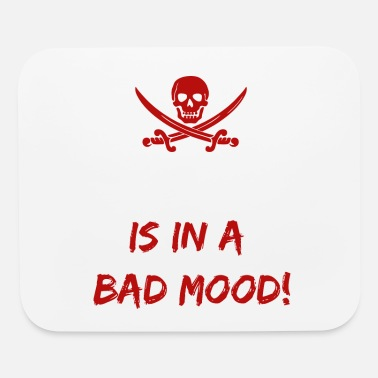 Easton Who is in a bad mood Easton - Mouse Pad