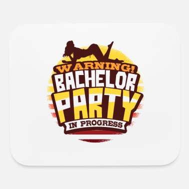 Wedding Party Bachelor Party Wedding - Mouse Pad