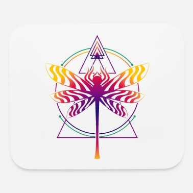 Goa Sacred Geometry Goa Dmt Psychedelic - Mouse Pad