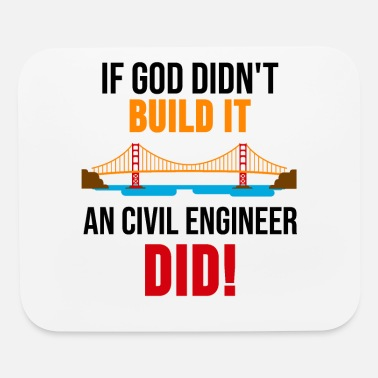 Civil Engineering Civil Engineering Shirt Engineer Nerd Gift - Mouse Pad