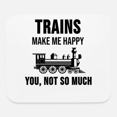 Steam Locomotive Engineer Train Driver Funny Gift - Mouse Pad
