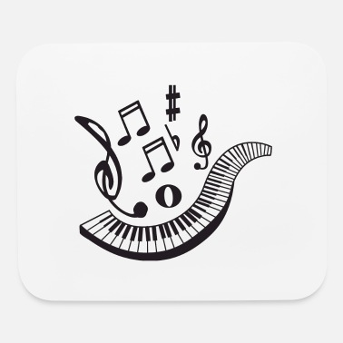 Notes Music - Mouse Pad