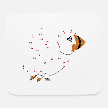Norway Alphabetical puffin - Mouse Pad
