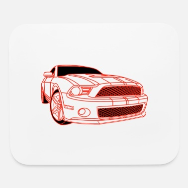 Drive Go By Car Car,Renner,Sportscar,Vehicle,V8 ✔ - Mouse Pad