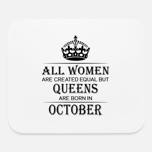 Mouse PadFunny Birthday Women October