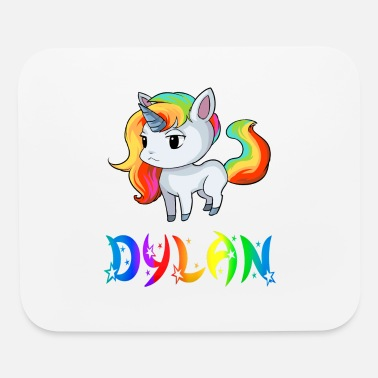 Dylan Dylan Unicorn - Mouse Pad