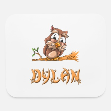 Dylan Dylan Owl - Mouse Pad