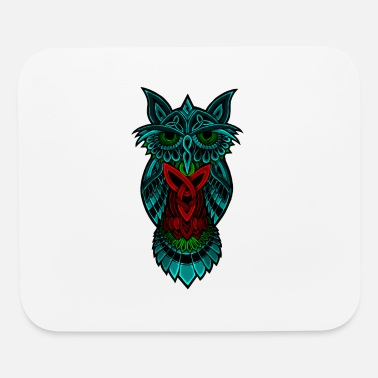 Nocturnal Owl The Nocturnal - Mouse Pad