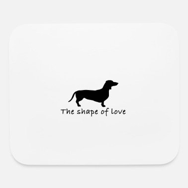 CUTE DOG DESIGN - Mouse pad Horizontal