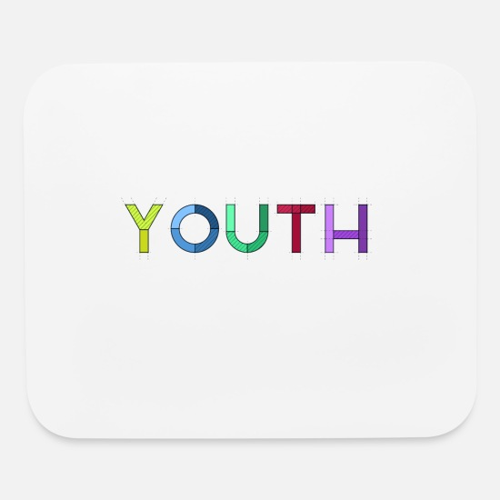 Gift Idea Mouse Pads - Youth - Mouse Pad white