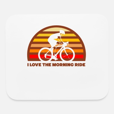 Specialized Mountain Bikes I Love Morning Bike Ride - Mouse Pad