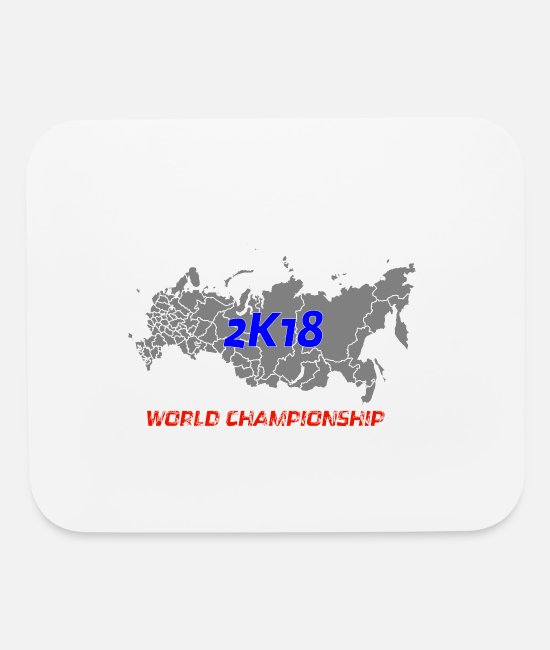 Ball Mouse Pads - Soccer Championship - Mouse Pad white