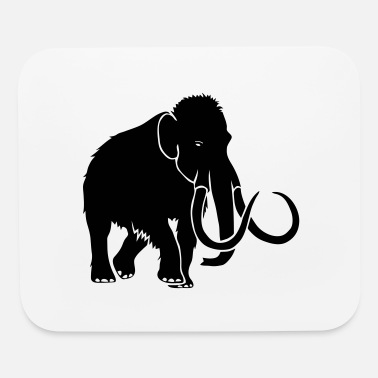 Tusk animal t-shirt mammoth ice age cave hunter tusk - Mouse Pad