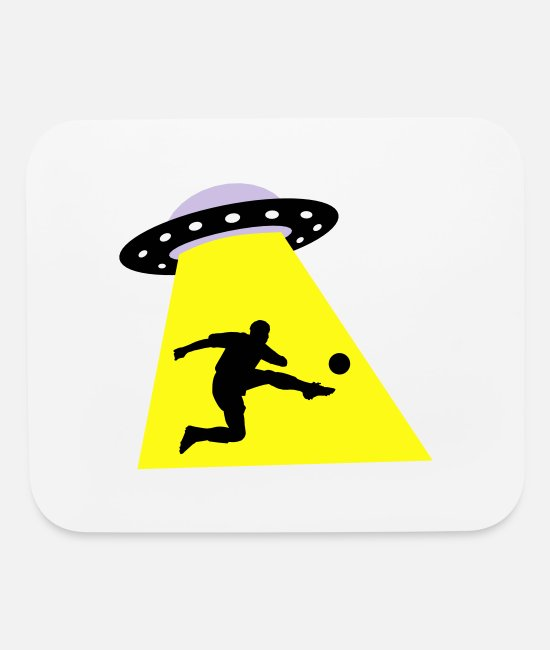 Space Mouse Pads - UFO And World Championship - Mouse Pad white