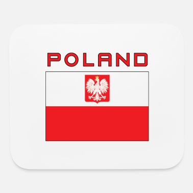Falcon State Poland Polish Falcon Flag - Mouse Pad