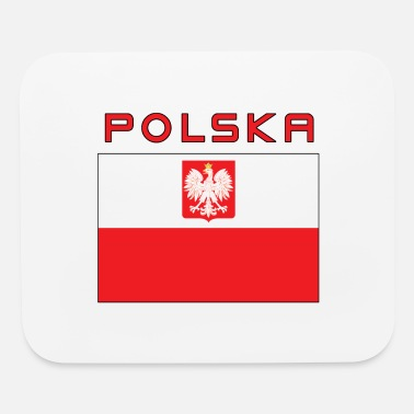 Falcon State Polska Polish Falcon Flag - Mouse Pad