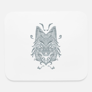 The Wolf Wolf, Wolf Art, Wolf Drawing - Mouse Pad