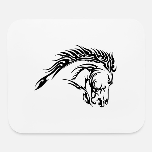 Tribal Horse Tattoo Designs Mouse Pad Spreadshirt