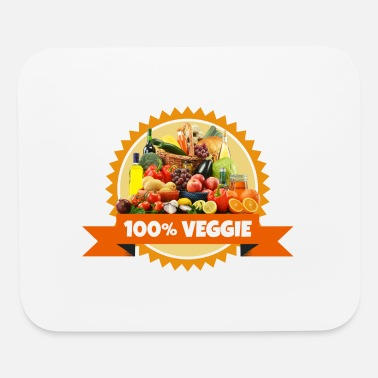 Vegan Veggie Vegetables Vegan Fruits - Mouse Pad