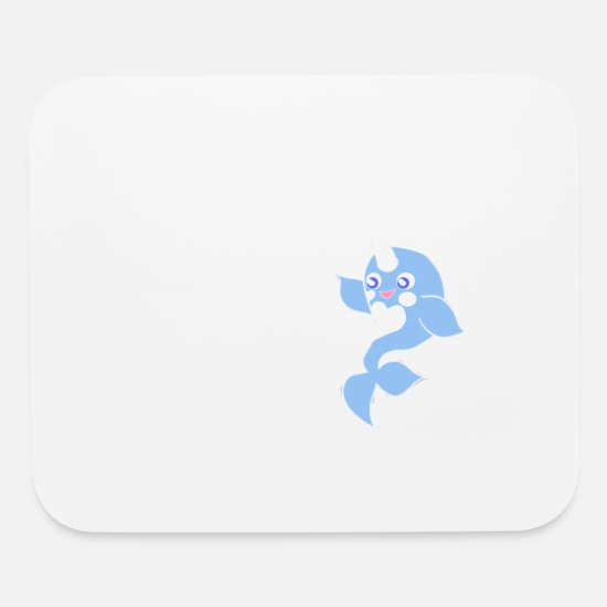 Birthday Mouse Pads - Unicorn Of Time Sea Gift Shirt Preminium - Mouse Pad white