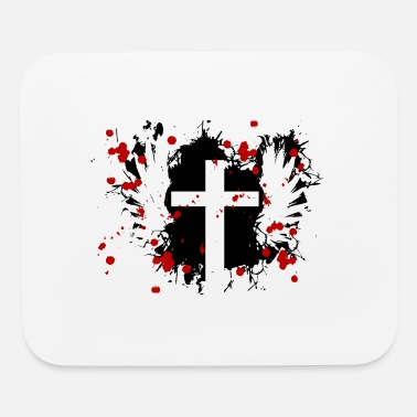 Wings Cross Cross with wings - Mouse Pad
