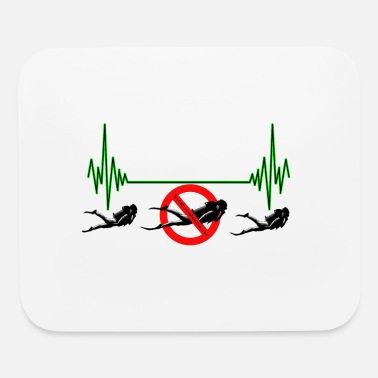 Heart Rate Divers Heart Rate - Mouse Pad