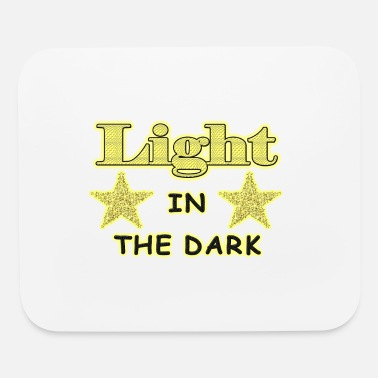 light in dark - Mouse Pad