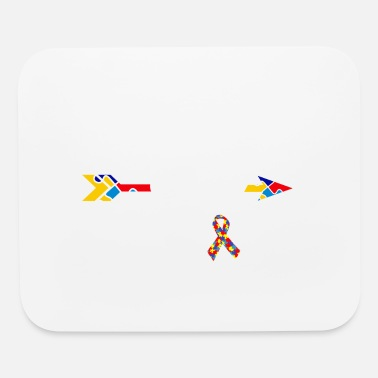 Autism Awareness Mom Of A Warrior Autism Awareness - Mouse Pad
