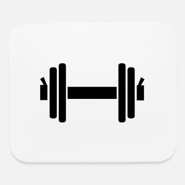 Dumbbell Dumbbell - Mouse Pad