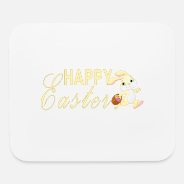 Easter Bunny Happy Easter Cute Bunny - Mouse Pad