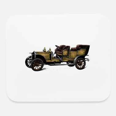 Antique Antique Car - Mouse Pad