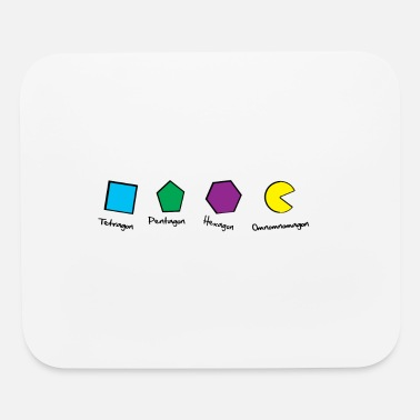 Funny Mathematics Funny mathematics joke for geeks and gamers - Mouse Pad