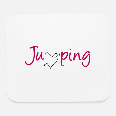 Show Jumping Jumping - great jumping design - Mouse Pad
