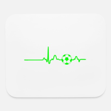 Pulse Green GIFT - ECG FOOTBALL GREEN - Mouse Pad