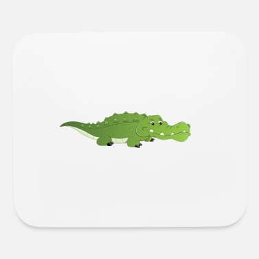 Cute Baby cute baby crocodile - Mouse Pad