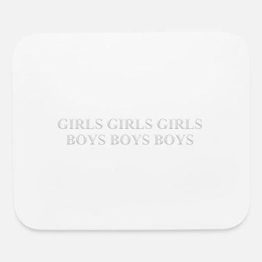 Boys And Girls Girls girls girls boys boys boys - Mouse Pad