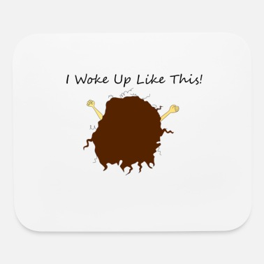 Hair Curly Hair after waking up - Mouse Pad