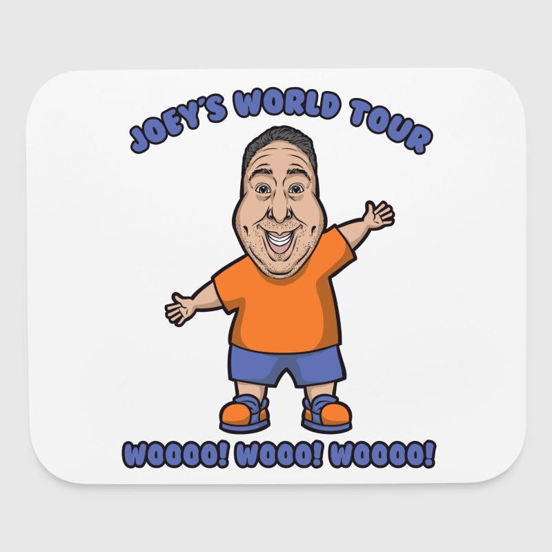 Joey's Woo! Woo! T-Shirt! - Mouse pad Horizontal