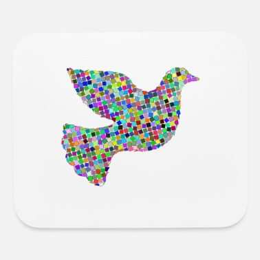 Hippie Life dove of peace - Mouse Pad