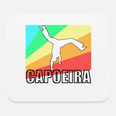 Mixed Martial Ar Capoeira fighting dance Brazil gift - Mouse Pad