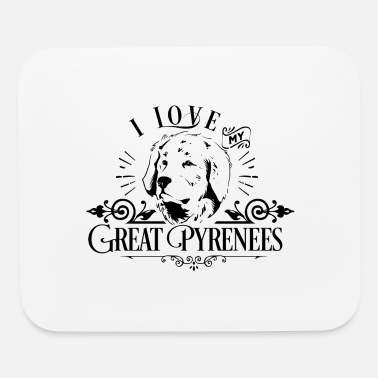 Watchdog Great Pyrenees Patou Pyrenean Mountain Dog Gift - Mouse Pad