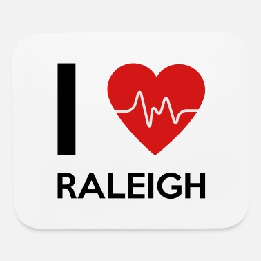 Raleigh I Love Raleigh - Mouse Pad