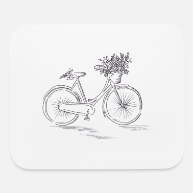 Different Bicycle Road Bike Mountain Bike Green Gift Idea - Mouse Pad