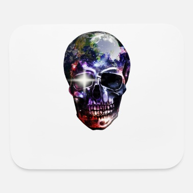 Costume Carneval Skull Halloween Glasses Holiday Carneval Gift - Mouse Pad