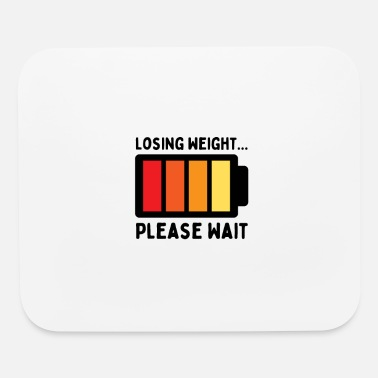 Losing Weight Please Wait, Funny Weight Loss vinta - Mouse Pad