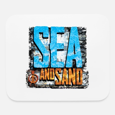 Sand sea and sand - Mouse Pad