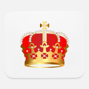 VIP Monarch royal crown jewel gold image cool art - Mouse Pad