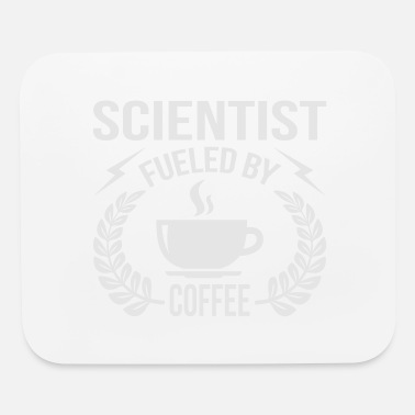 Labouratory Scientist Fueled By Coffee - Mouse Pad